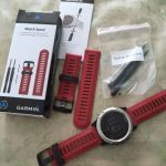 Original  Garmin Band for Fenix 3 Outdoor Watch band Black Red Green Blue Yellow