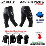 ZXU 3/4 CYCLING PANTS WITH GEL PAD