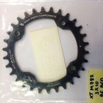 WOLF TOOTH Drop-Stop Chainring, 96mm BCD Chainrings for Shimano Compact Triple (NEW)