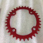 Deckas 34T Performance Oval Single Chain Ring | Rotor Egg Design @ free pos
