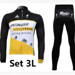 New Cycling Livestrongteam  Long Jersey adidas