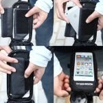 ROSWHEEL BICYCLE SMART PHONE POUCH TRANSPARENT TOUCHSCREEN WATERPROOF