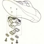 CAMPAGNOLO PD-RE021 PRO-FIT CLEAT ROAD REPLACEMENT CLEATSET (FREE POS)