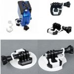 Silicone Rubber Safety Lock Plug for GoPro Mount X 2PCS