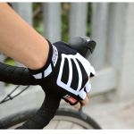 Fashion cycling gloves half finger