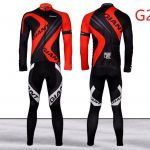 Giant alpecin Long sleeve cycling jersey 3D padding long pants