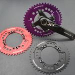 XT, XTR Oval Chainring, Fouriers Single Speed Chainring 96bcd, 104BCD