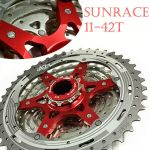 Sunrace Red 11-42T 10 speed Cassette CSMX3