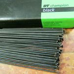 DT SWISS CHAMPION STRAIGHT PULL SPOKE 2.0 X 160 - 293MM (FREE POS)