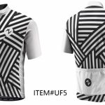 UNIQUE NEW FASION CYCLING JERSEY WHITE CIRCLE
