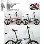 "20"" VEROLI WINDVANE Folding Bike (8 speed, Al Frame, Disc Braked, 13.2KGs)"