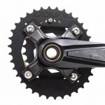 Doval oval Double Chainring ( 36/24, 38/24, ) BCD 104/64 for MTB