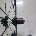 CRODER ENDURO hubset with SL Spokes & Moonstone Superlight Rims - 1435grams only!!! - Clearance Sale