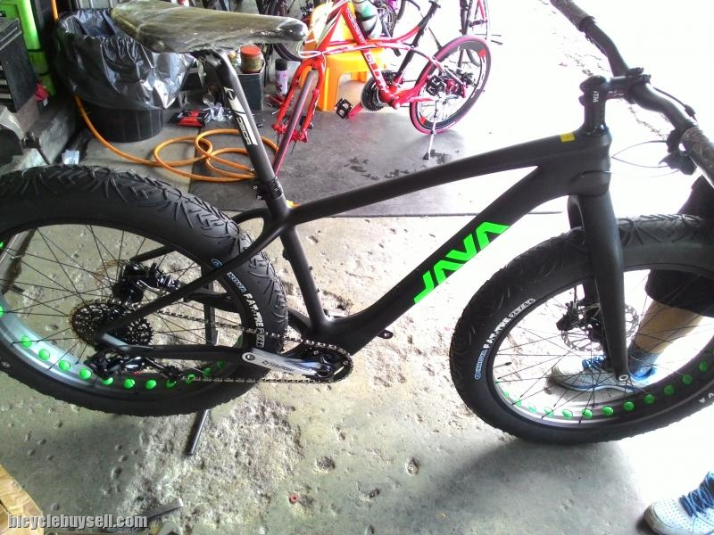 Java Carbon Fatbike 11 speed. Nego