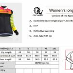 Cycle2u Close-fitting Women Long sleeve Jersey