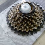 9speed shimano cassette - condition 9/10 - lightly use few rides only, just need cleaning