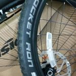 Ghost Lector 6 Wheelset with Xt hub (with rotor and tires)