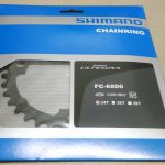 Shimano Ultegra 6800 34/36/39T 11Speed Chain Ring