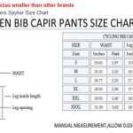 Blazers Plus Spyker Cycling Bib Knickers Professional Foam Chamois Padded 3/4 cover knee
