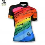 CYCLE2U Lady''s Short Sleeve Cycling Jersey
