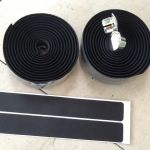 Roadbike Foam Bar Tape - Black   -- free courier