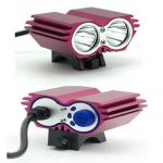 CREE XM-L 2*T6 LED Light for Bike 3000 Lumen