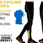 Realtoo Cycling Long Pants(Green) with gel padding