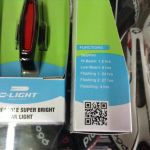 D-Light Aero Rechargeable Super Bright Rear Light CG420R1 / Taiwan (free pos w.m)