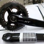 Shimano Deore XT 2017 28-38 double chainring crankset - Guanranteed only Original!!!
