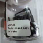 BRAKCO 5mm NOSE CAPS for Road Brake Housing or MTB Brake Housing