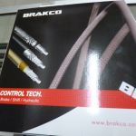 BRAKCO Hydraulic Hose For Shimano - High Quality with Super Stifff Wall for Powerful Braking - Black
