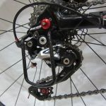 (NEW Rare Item) - T700HM Carbon Fibre Rear Derailleur Protector/Guard 3K Gloss Finish, 14 grams only