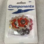 Aerozine Jockey Wheel 11T | Orange 1Pair @ free pos