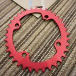 Deckas 104mm BCD 34T 36T 38T Performance Single Chain Ring | Rotor Egg Design