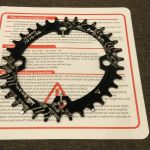 Snail Oval 104BCD 32/34/36T MTB Single Speed Chain Ring