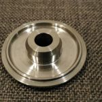 Titanium Headset Cap With M6x35mm Titanium Bolt