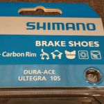 Shimano Dura-Ace Brake Shoes For Carbon Rim