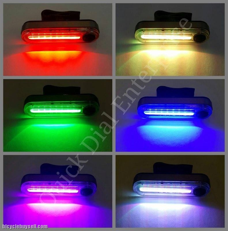 6 Color Bicycle Tail light