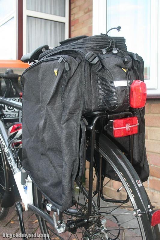 Trunk Mount Bike Rack >> Topeak MTX TrunkBag DXP - Strap Mount / Taiwan (free pos w.m)
