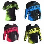 MTB / DOWNHILL JERSEY 3/4 SLEEVE  ~ AAA QUALITY ( WE HAVE ALL DESIGNS TLD / YETI / COMMENCIAL )