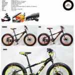 "20"" TRS 2WD FAT BIKE (7 speed, Aluminium Framed, Disc Braked)"
