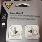 Topeak Cage Mount For Bottle Cage / Taiwan (free pos w.m)