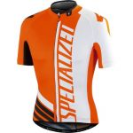 Specialized PRO Racing Short Sleeve Jersey - Orange White