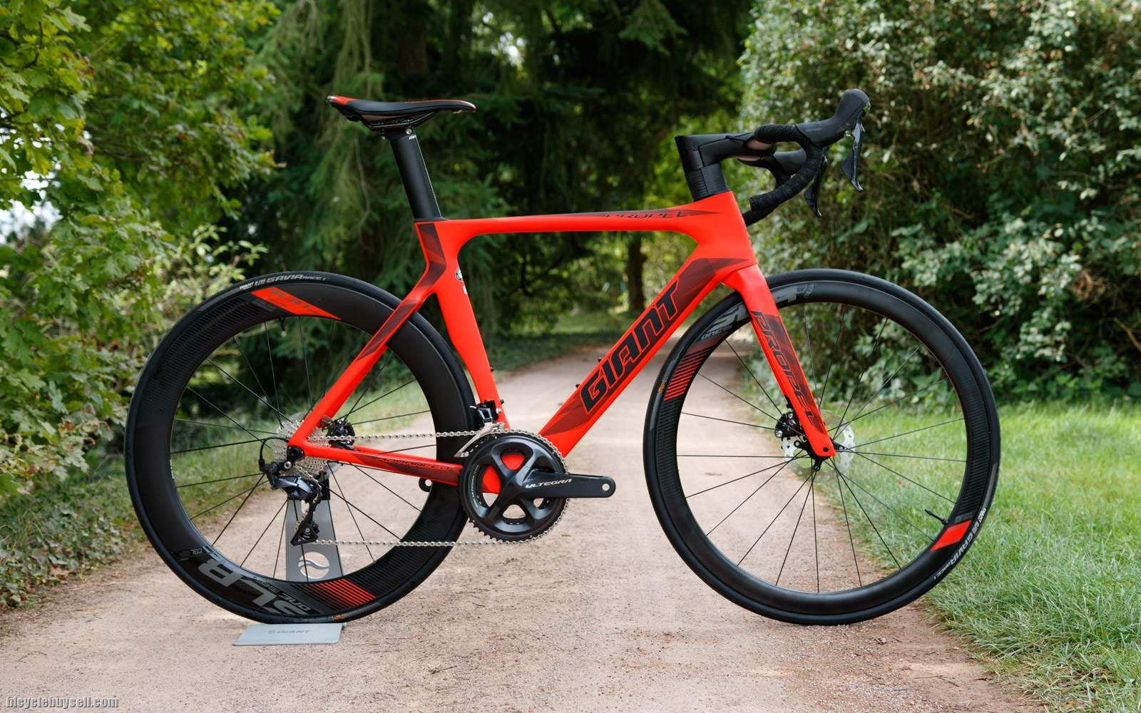 All New 2018 Giant Propel Advanced Disc