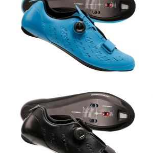 Shimano RP9 Road Cycling Shoes Black Blue 2018