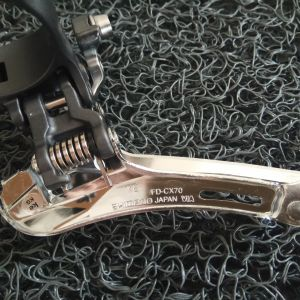 Shimano Ultegra FD-CX70 34.9mm Clamp-On Cyclocross Front Derailleur