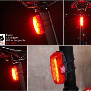 CATEYE RAPID X3 REAR LIGHT .