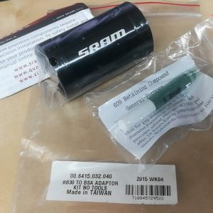 SRAM BB30 TO BSA 24mm BOTTOM BRACKET ADAPTOR KIT (FREE POS)