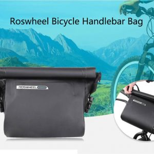 Roswheel 100% Waterproof Bicycle Handlebar Bag