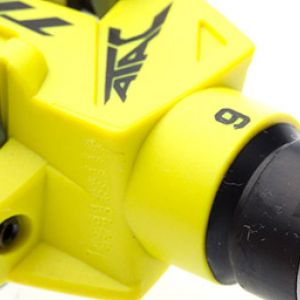 TIME ATAC XC6 COMPOSITE MTB CLIPLESS PEDAL WITH CLEAT - YELLOW (FREE POS)